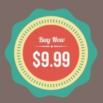 Vintage Flat Web Badges PSD