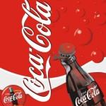 Coca Cola Poster Template Vector