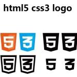 Vector Html5 & CSS3 Logos