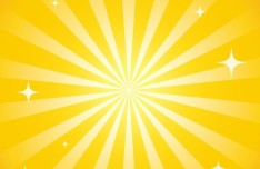 Yellow Sparkling Background Vector