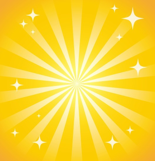 free yellow sparkling background vector titanui