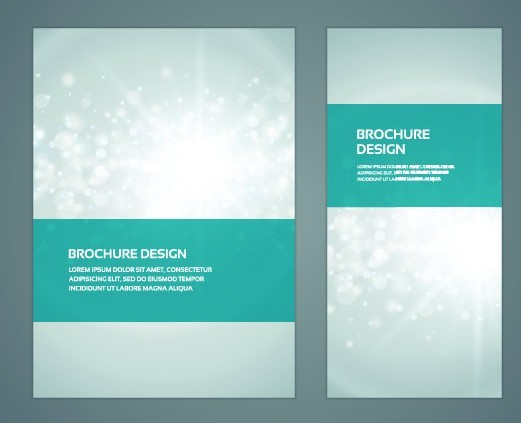 Free creative business brochure cover design vector 02 for Brochure cover designs