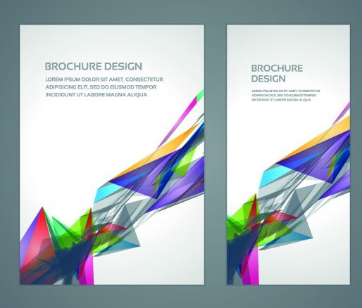 Creative Book Cover Design Eps : Free creative business brochure cover design vector
