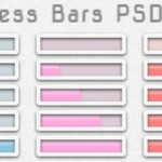 Set Of Minimal Progress Bars PSD