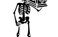Vector Skeleton with Coffin