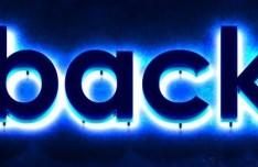 Backdoor Neon Text Effect PSD
