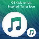 OS X Mavericks Style iTunes Icon