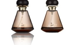 Chocolate Colored Vector Perfume Bottle