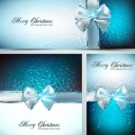 Merry Christmas and Happy New Year Background Vector 04