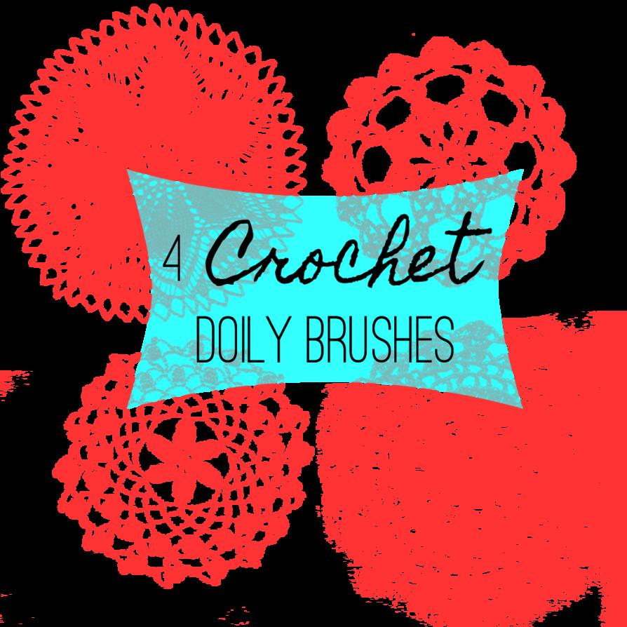 Photoshop Graphic Design Brushes 4 Crochet Doily Photoshop