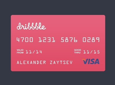 free visa credit card template psd titanui