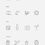 20 Clean and Clear Line Icons Vector