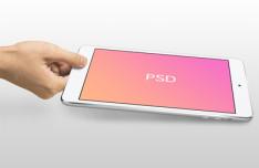 iPad Mini Mockup Template PSD