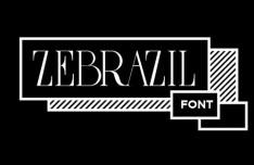 Zebrazil Font