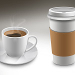 Coffee Cup Mockups PSD