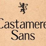 Castamere Sans Font