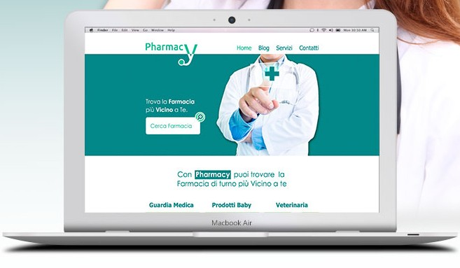 Free Pharmacy Website Template Psd Titanui