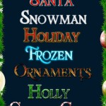 Happy Holiday Text Styles PSD