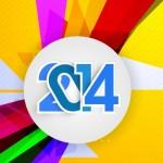 Creative New Year 2014 Design Vector 04