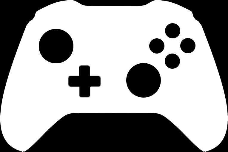 Xbox One Controller Silhouette Vector PSDXbox One Vector