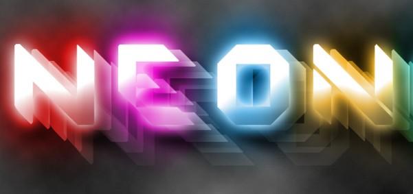 Light Effect Psd Free Download 3d Neon Light Text Effect Psd
