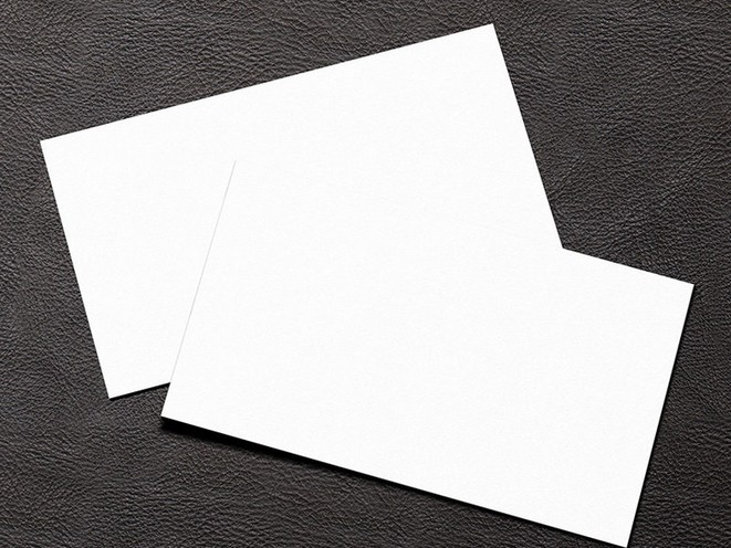 Types of Designs for Your Thick Business Cards