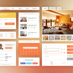 Real Estate & Booking UI Kit PSD