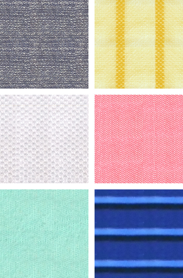 free 6 tileable fabric photoshop patterns