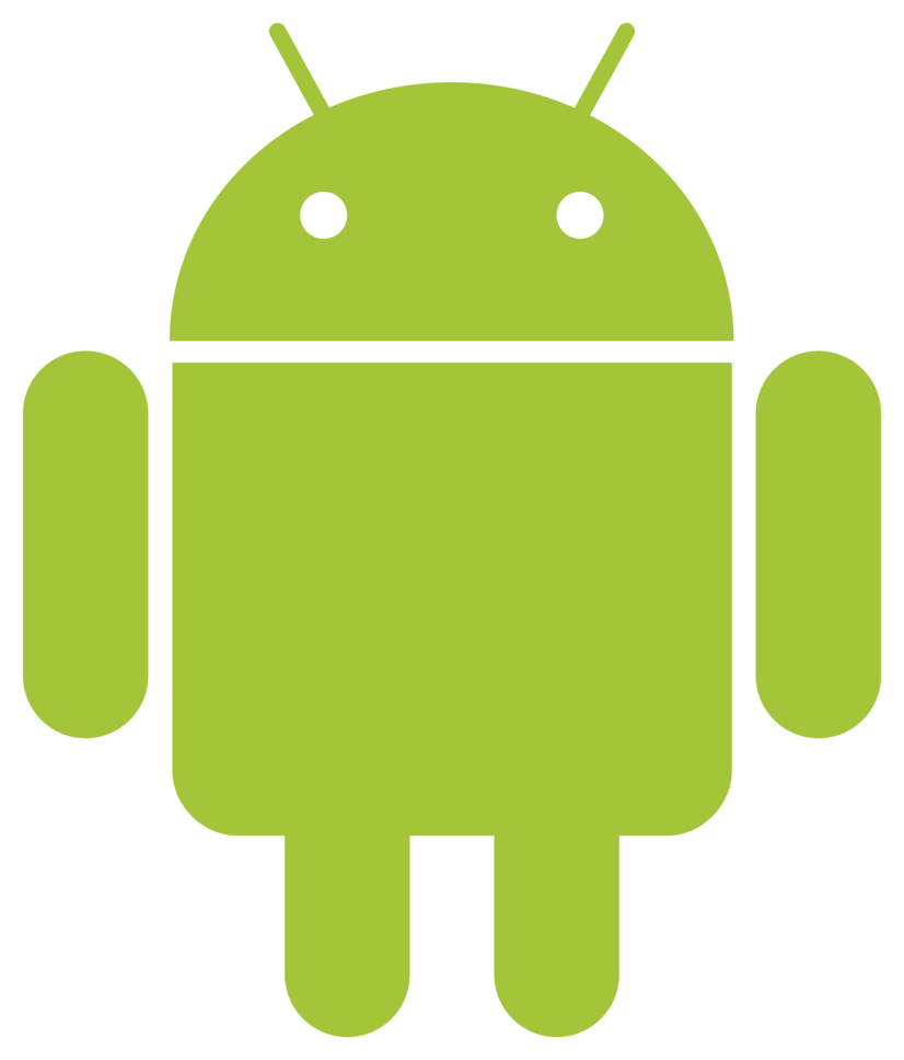 Free Simple Android Robot Logo Vector PSD - TitanUI  Free Simple And...