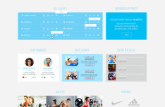 GYMSports - Modern Fitness and GYM Website Template