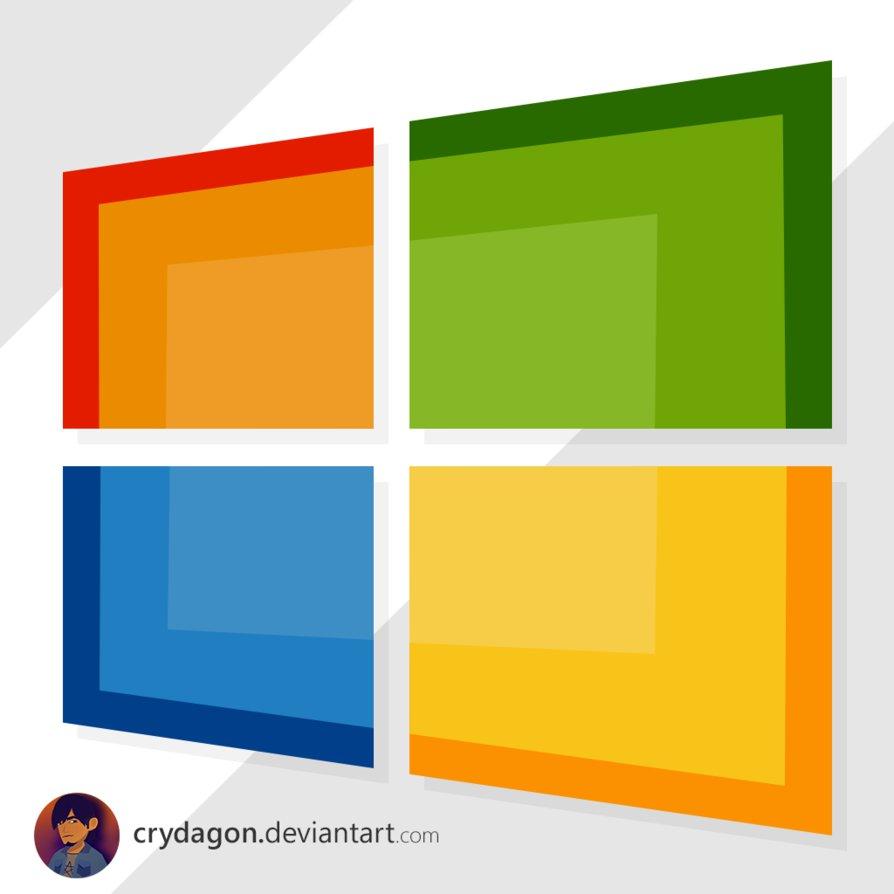 Free Flat Windows Logo Psd Titanui