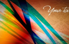 Colored Abstract Banner Design Vector 03