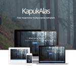 KapukAlas – Responsive Multipurpose Web Template PSD