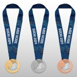 The Sochi 2014 Winter Olympics Medals PSD