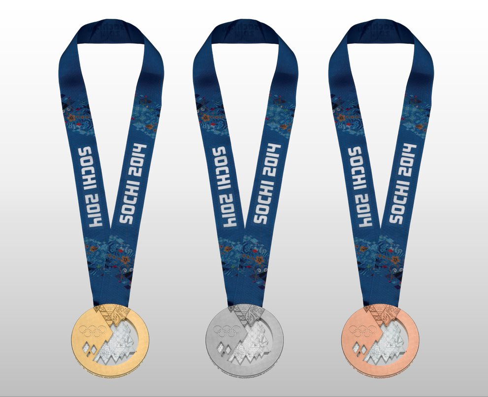 Free The Sochi 2014 Winter Olympics Medals PSD