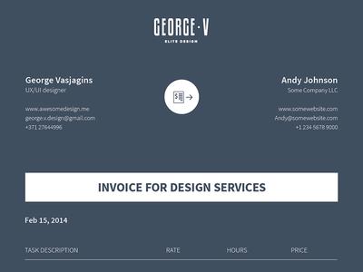free invoice template vector - titanui, Simple invoice