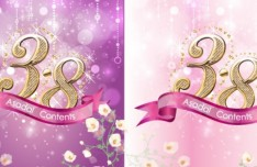 Fantastic International Women's Day Vector Background