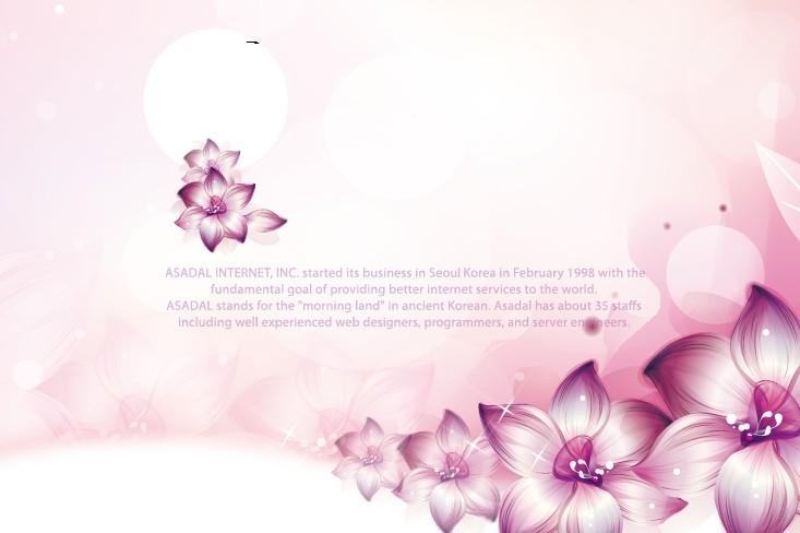 Free Pink Flower International Women's Day Background Vector 04 ...: www.titanui.com/39112-pink-flower-international-womens-day...
