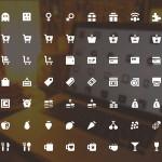 100+ UI Icon Set PSD