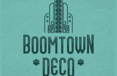 Boomtown Deco Font
