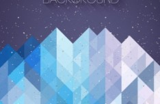 Hipster Abstract Triangles Background Vector 01