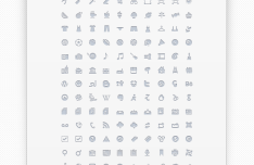 170 Clean & Stylish UI Icons