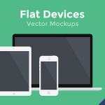 Flat Vector Devices Mockups