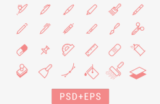 Drawing Tools Iconset