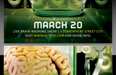 Brain Masterz Flyer Template PSD