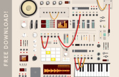 Audio Session Kit Vector