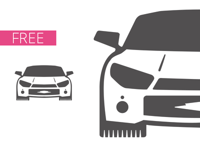 Free Simple Car Vector Titanui