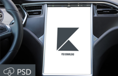 Tesla Model S Touchscreen Display PSD