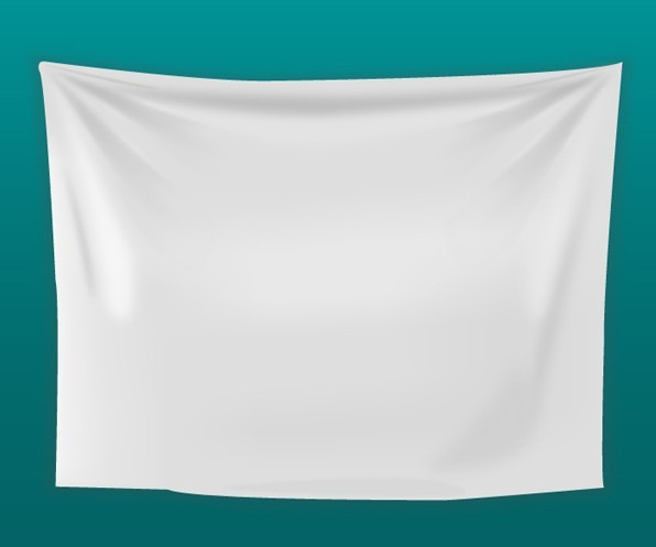 Free White Blank Fabric Background Vector - TitanUI