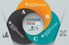 Creative Circle Infographic Presentation Elements Vol.1
